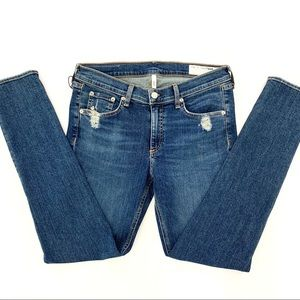 Rag & Bone NWT La Paz Skinny Shredded Jeans 31